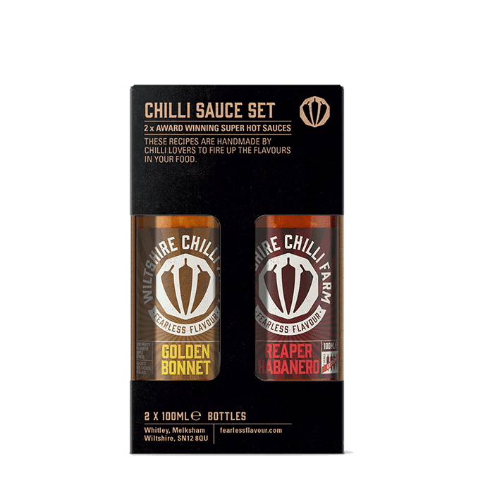 Extreme Hot Sauce Gifts Wiltshire Chilli Farm Fearless Flavour
