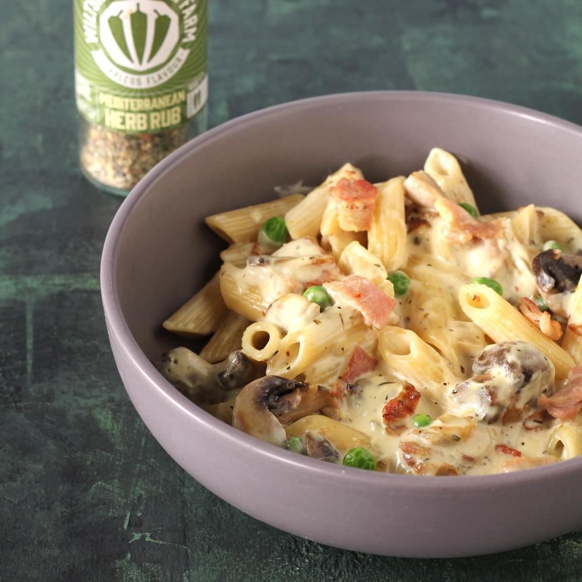 Mushroom Pasta