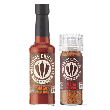 Wiltshire Chilli Farm - Naga Sauce and Naga Salt Bundle