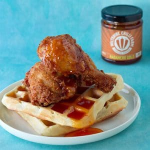 Wiltshire Chilli Farm - Chicken and Waffles
